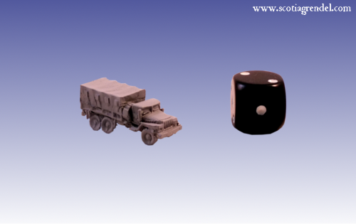 RM0070 - URAL 375 Heavy Truck (Covered Top)