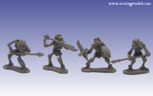 GFR0104 - Undead Orcs Warriors I
